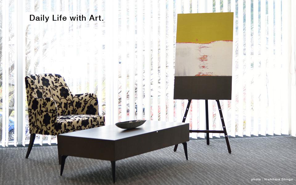 東京・静岡のアートギャラリー、インテリア・アート・デコのwebsiteトップページ