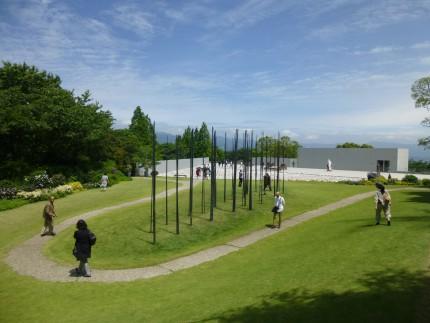 初夏のヴァンジ彫刻庭園美術館